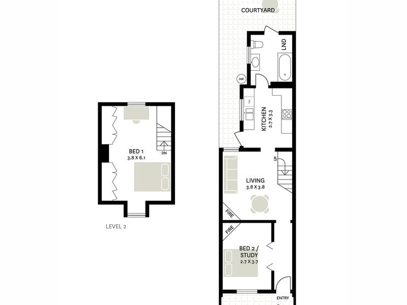 11 Hegarty Street, Glebe, NSW 2037 - floorplan