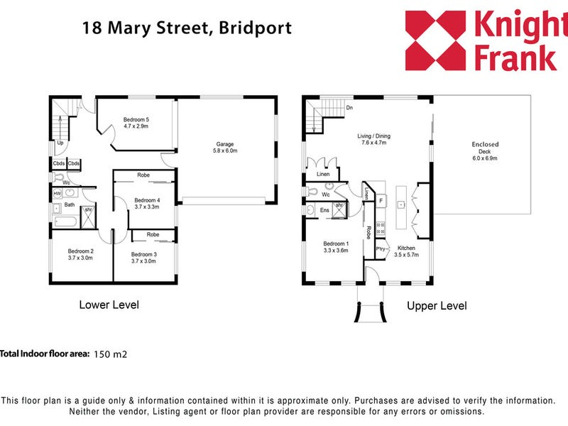 18 Mary Street, Bridport, Tas 7262 - floorplan