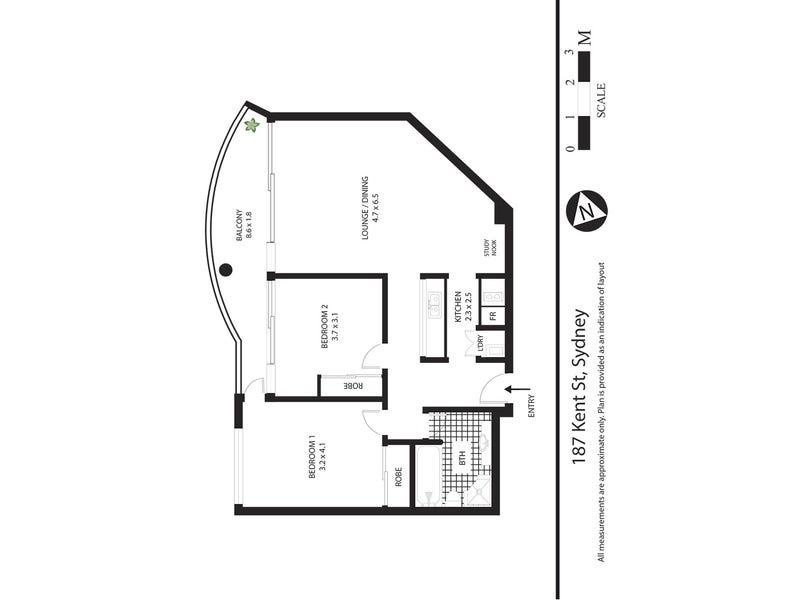 187 Kent Street, Sydney, NSW 2000 - floorplan