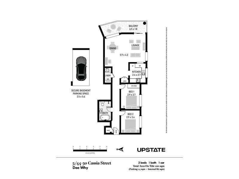 5/44-50 Cassia Street, Dee Why, NSW 2099 - floorplan