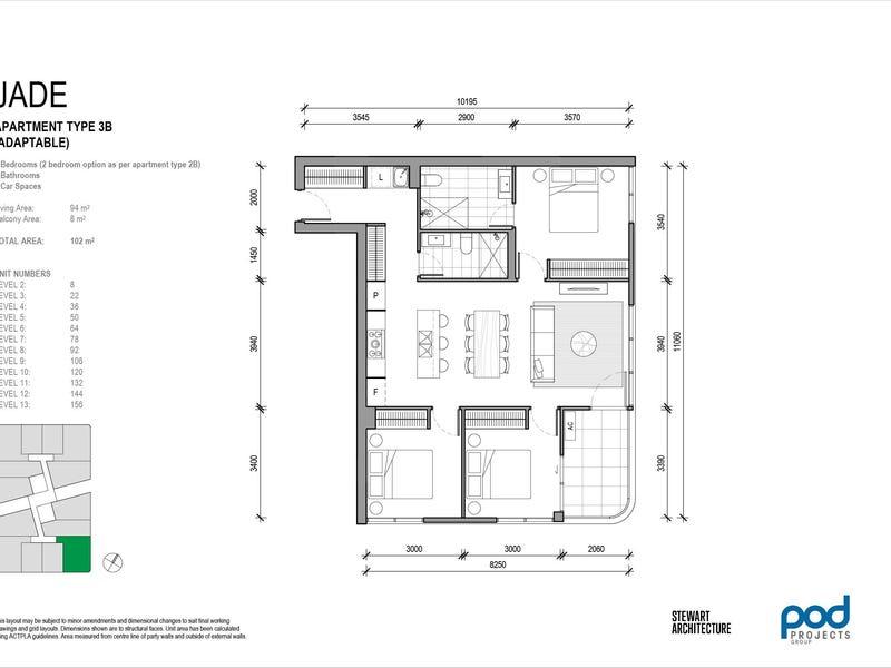 22/2 Gribble Street, Gungahlin, ACT 2912 - floorplan