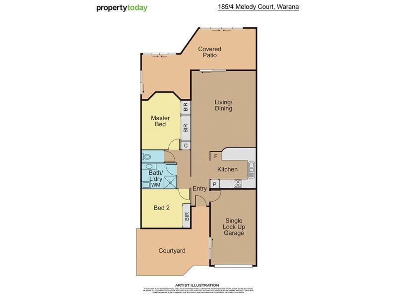 185/4 Melody Court, Warana, Qld 4575 - floorplan