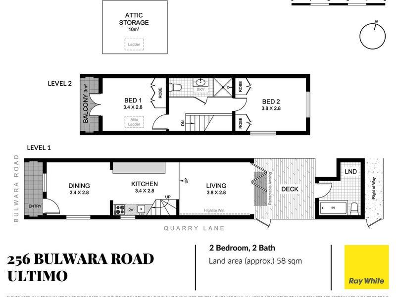 256 Bulwara Road, Ultimo, NSW 2007 - floorplan