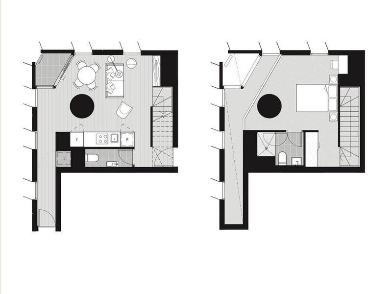 401 /398 Elizabeth Street, Melbourne, Vic 3000 - floorplan