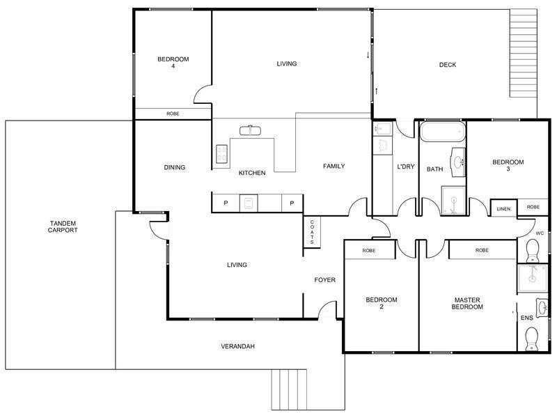 6 Merfield Place, Giralang, ACT 2617 - floorplan