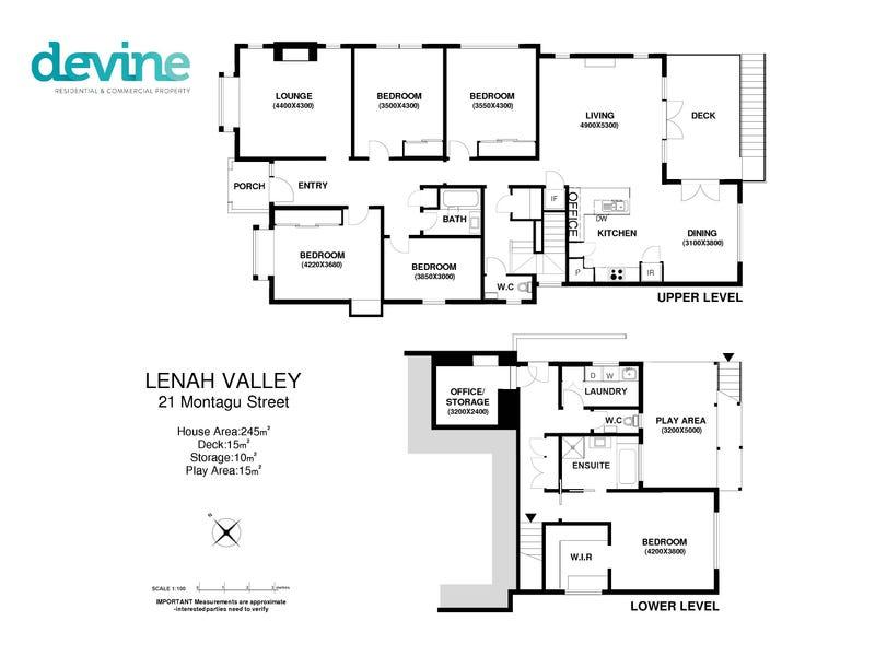 21 Montagu Street, Lenah Valley, Tas 7008 - floorplan