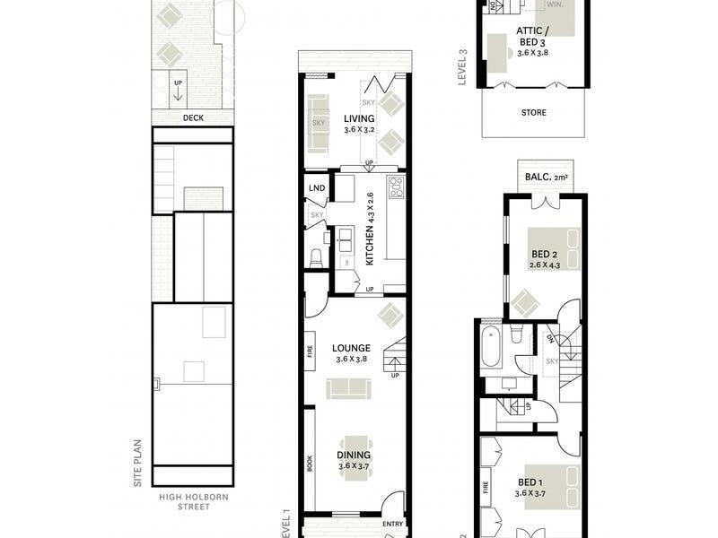 26 High Holborn Street, Surry Hills, NSW 2010 - floorplan