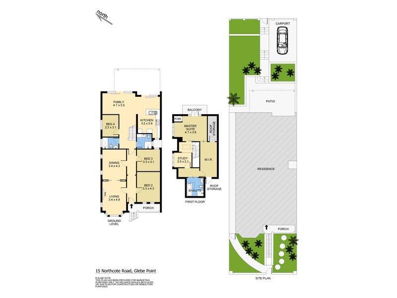 15 Northcote Road, Glebe, NSW 2037 - floorplan