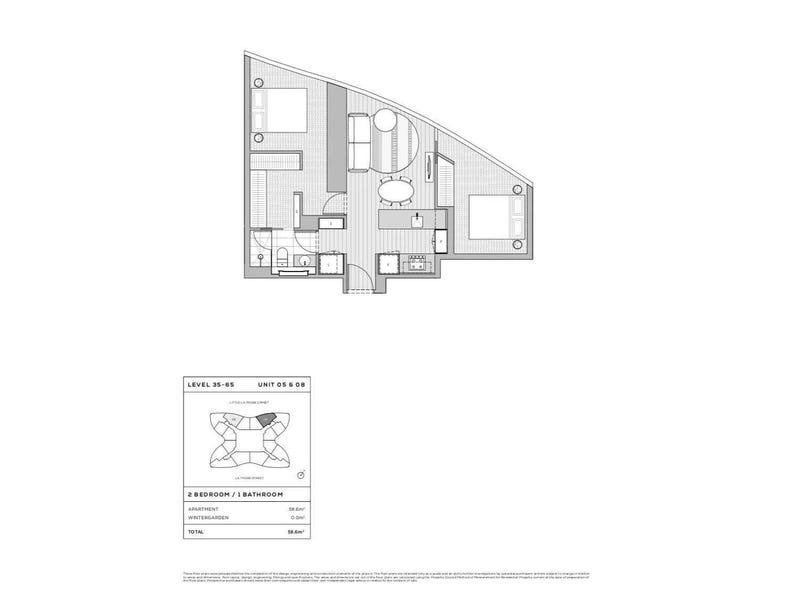 224/la trobe  street, Melbourne, Vic 3000 - floorplan