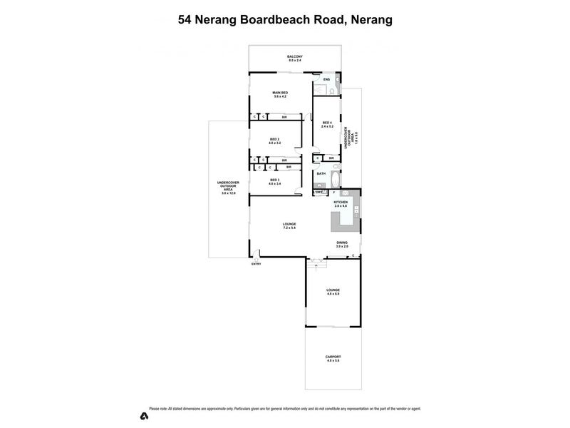 54 Nerang Broadbeach Road, Nerang, Qld 4211 - floorplan