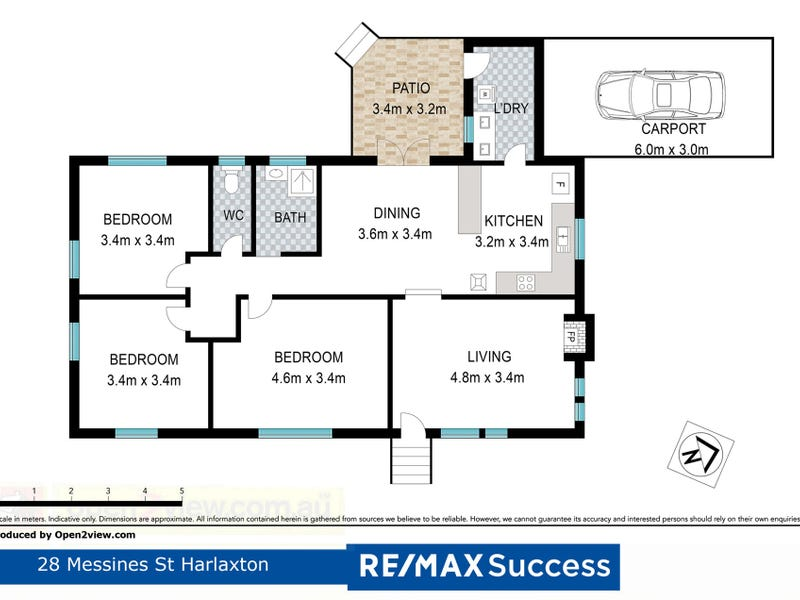 28 Messiness Street, Harlaxton, Qld 4350 - floorplan