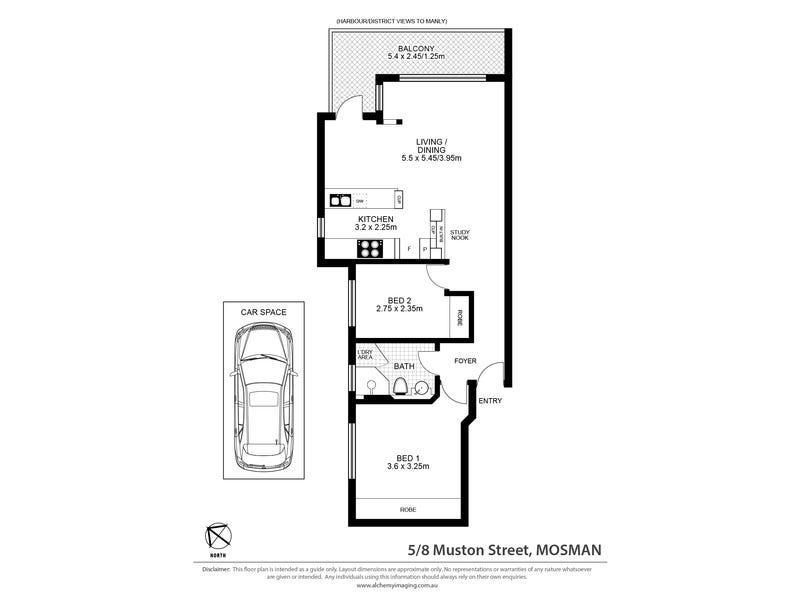 5/8 Muston Street, Mosman, NSW 2088 - floorplan