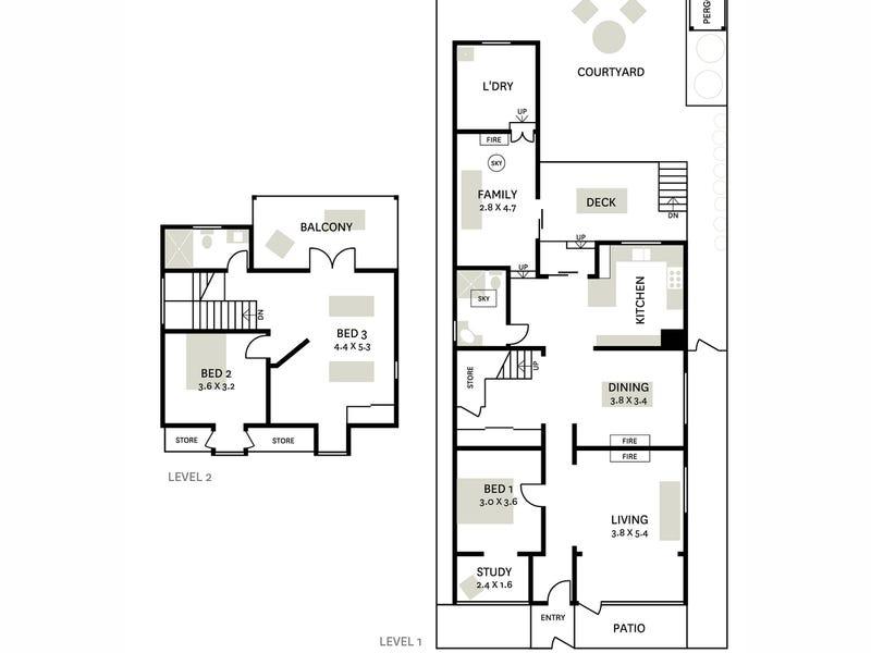 32 High Street, Balmain, NSW 2041 - floorplan