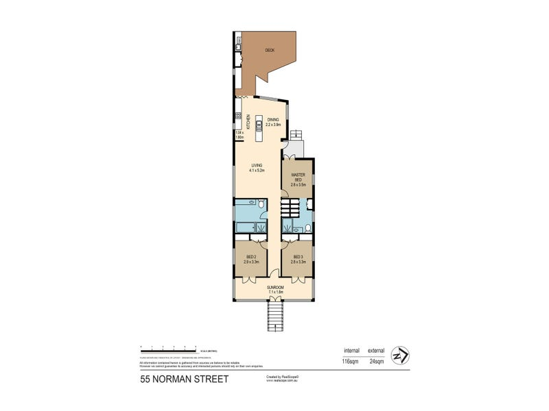 55 Norman Street, East Brisbane, Qld 4169 - floorplan
