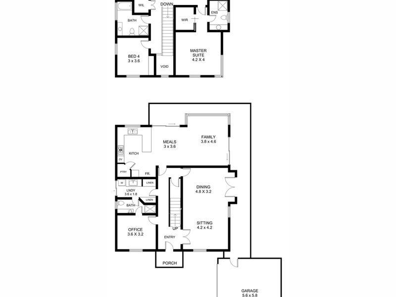 125A Cobb Street, Wembley Downs, WA 6019 - floorplan