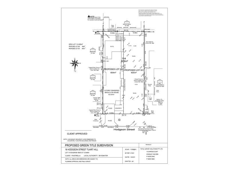 Lot 501, 18 Hodgson Street, Tuart Hill, WA 6060 - floorplan