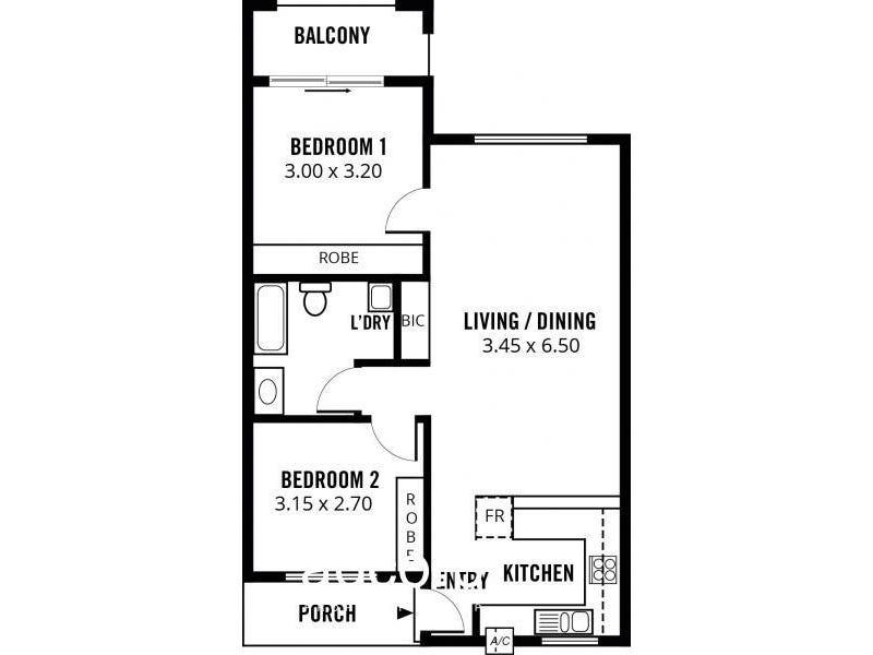 23/274 South Terrace, Adelaide, SA 5000 - floorplan