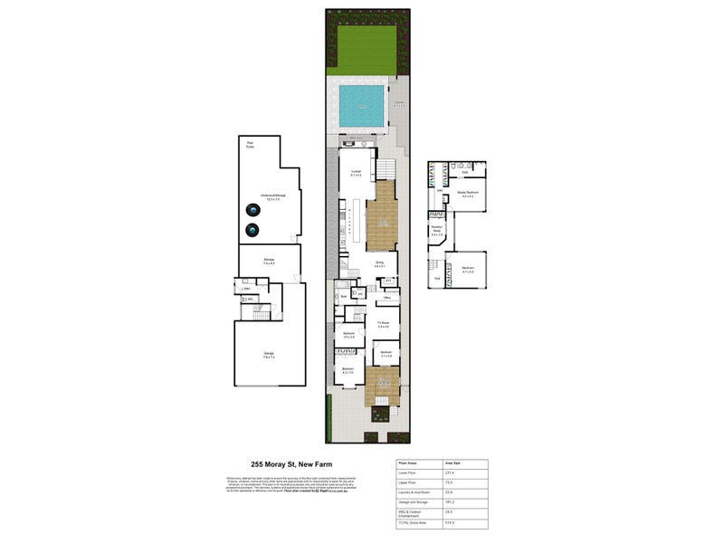 255 Moray Street, New Farm, Qld 4005 - floorplan