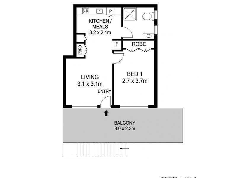 8/3-5 Bridge Street, North Haven, NSW 2443 - floorplan