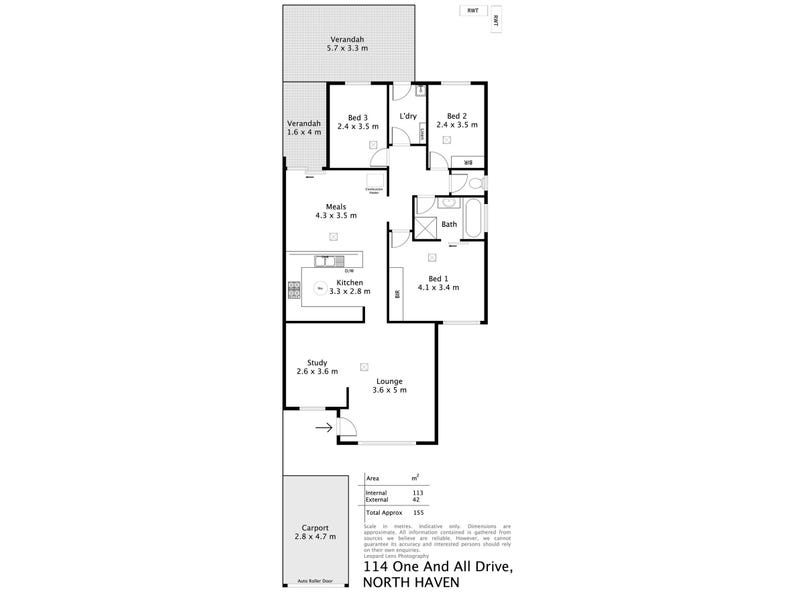 114 One and All Drive, North Haven, SA 5018 - floorplan