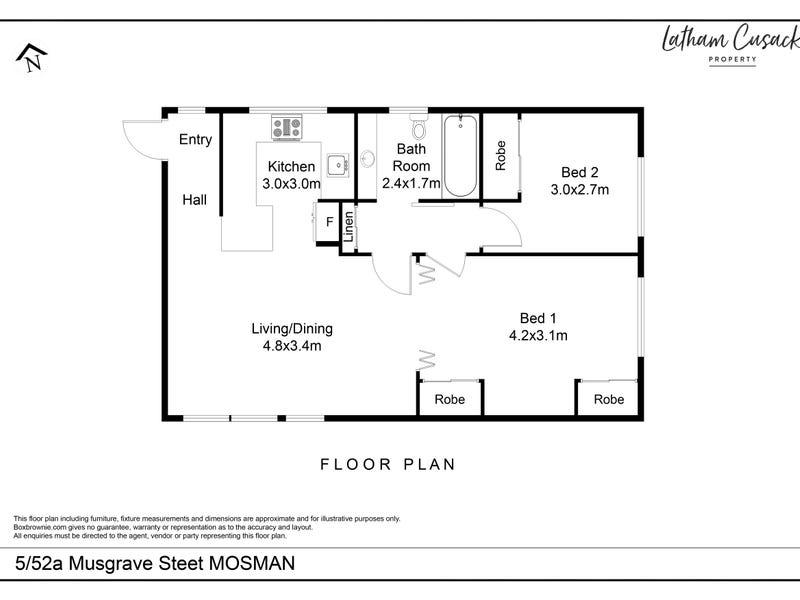 5/52A Musgrave Street, Mosman, NSW 2088 - floorplan