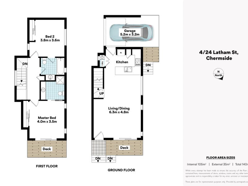 4/24 Latham Street, Chermside, Qld 4032 - floorplan