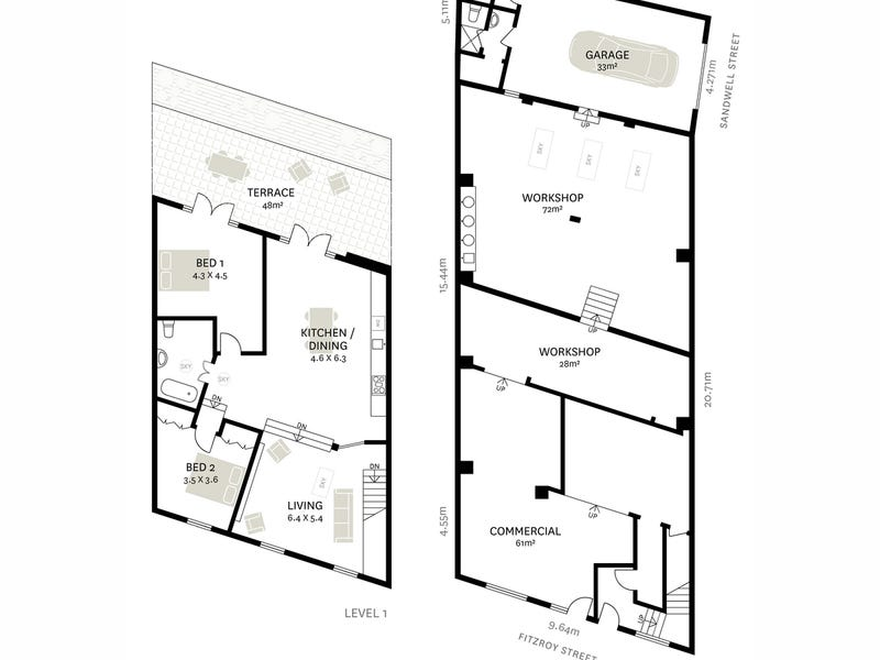 90 Fitzroy Street, Surry Hills, NSW 2010 - floorplan