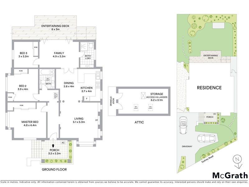 479 Sydney Road, Balgowlah, NSW 2093 - floorplan