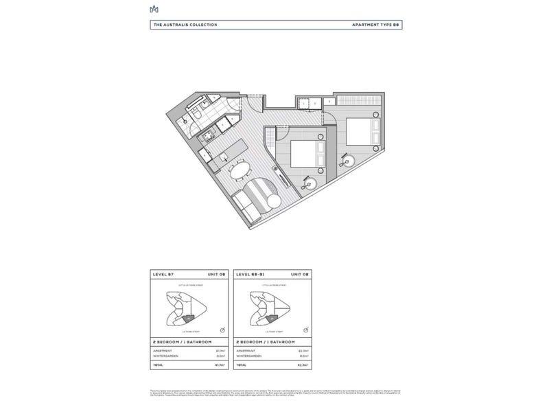 8308/224 La Trobe Street, Melbourne, Vic 3000 - floorplan