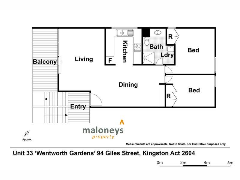 33/94 Giles Street, Kingston, ACT 2604 - floorplan