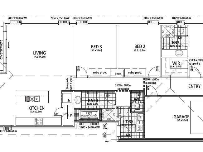 Lot 1419 Lynch Street, Evanston Gardens, SA 5116 - floorplan