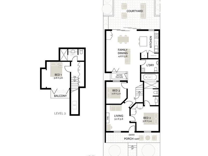 4 Waterview Street, Balmain, NSW 2041 - floorplan