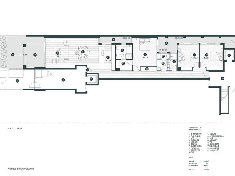217 Gover Street, North Adelaide, SA 5006 - floorplan