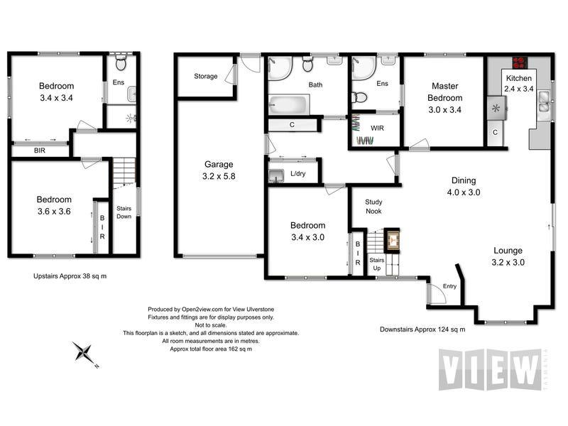 1/26 Amber Court, Ulverstone, Tas 7315 - floorplan