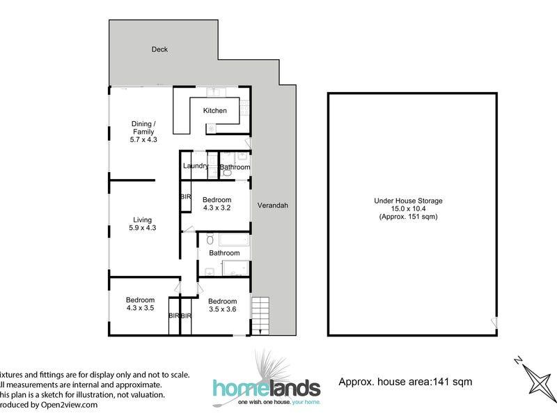 6 Millton Road, Port Huon, Tas 7116 - floorplan