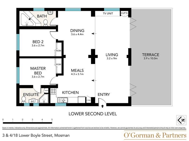 3 & 4/18 Lower Boyle Street, Mosman, NSW 2088 - floorplan