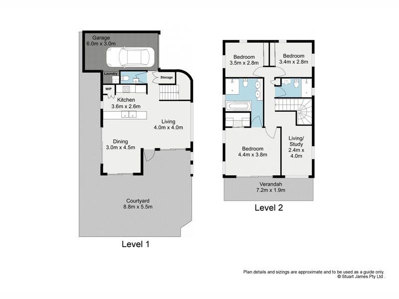 2/28-42 Annie Street, New Farm, Qld 4005 - floorplan