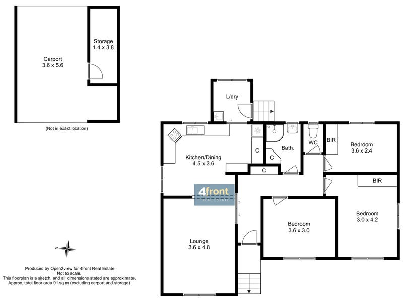 85 Payne Street, Acton, Tas 7320 - floorplan