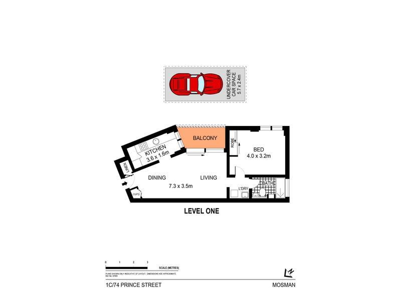 1C/74 Prince Street, Mosman, NSW 2088 - floorplan