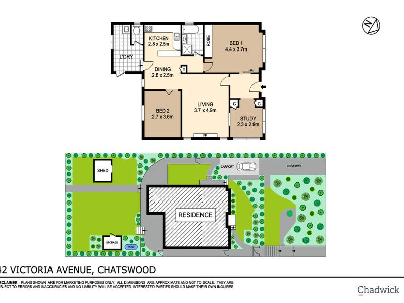42 Victoria Avenue, Chatswood, NSW 2067 - floorplan