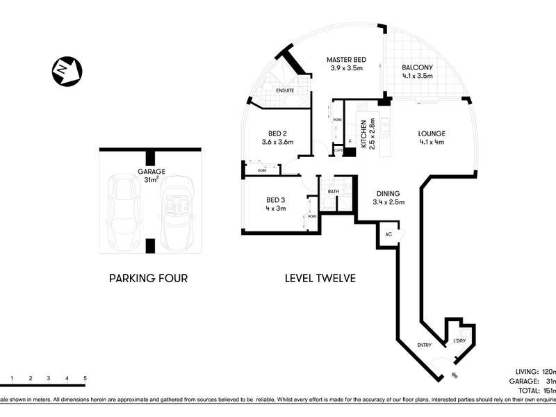 120/14 Brown Street, Chatswood, NSW 2067 - floorplan