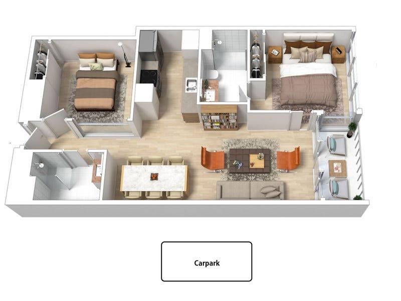 1811/618 Lonsdale Street, Melbourne, Vic 3000 - floorplan