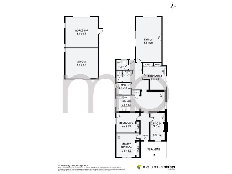 33 Rosemary Lane, Orange, NSW 2800 - floorplan