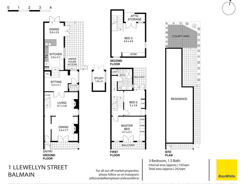 1 Llewellyn Street, Balmain, NSW 2041 - floorplan