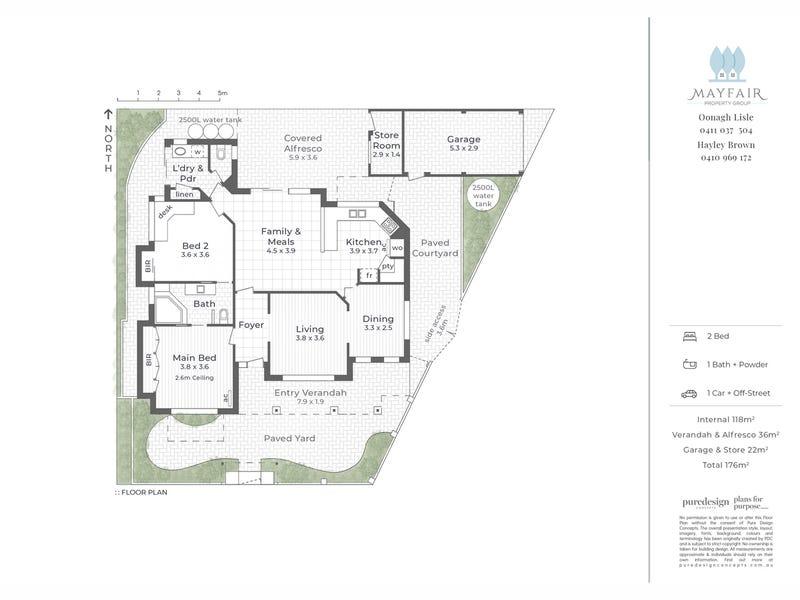 34 Waylen Road, Shenton Park, WA 6008 - floorplan