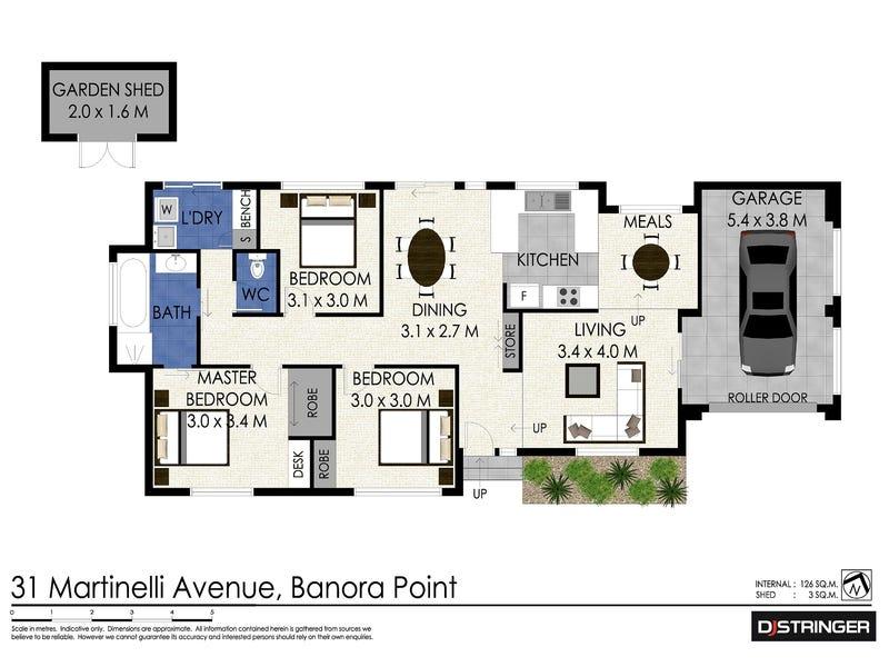 31 Martinelli Avenue, Banora Point, NSW 2486 - floorplan