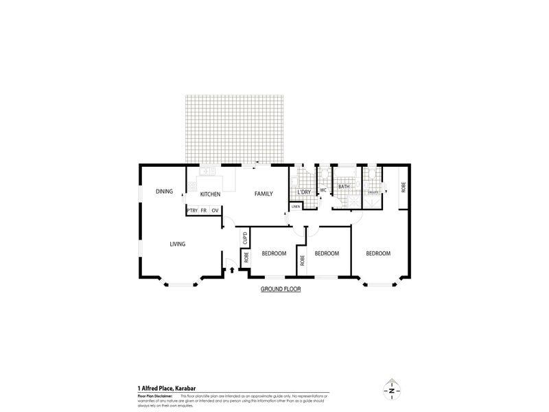 1 Alfred Place, Karabar, NSW 2620 - floorplan