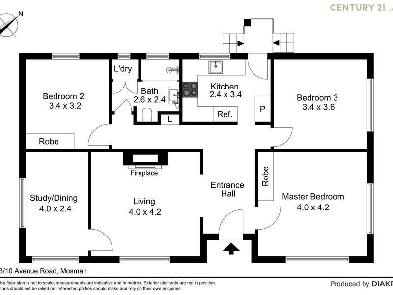 3/10 Avenue Road, Mosman, NSW 2088 - floorplan
