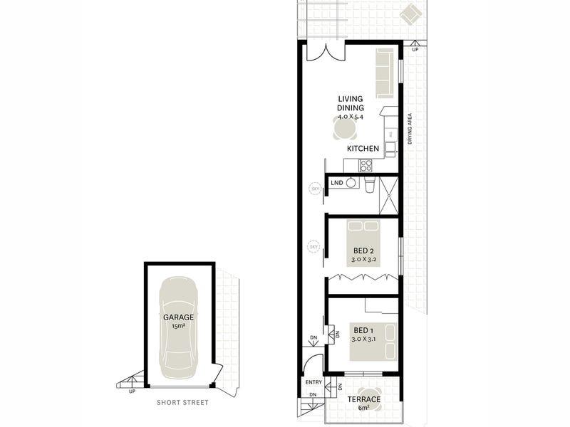 16 Short Street, Balmain, NSW 2041 - floorplan