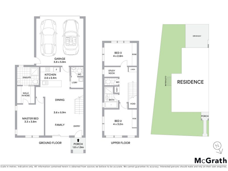 1/6 Bon Scott Crescent, Moncrieff, ACT 2914 - floorplan